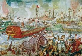 The Naval Battle of Actium, 31 BC
