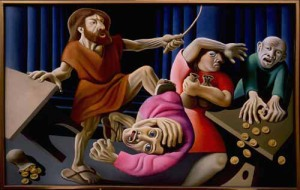 Jesus' outbursts of anger