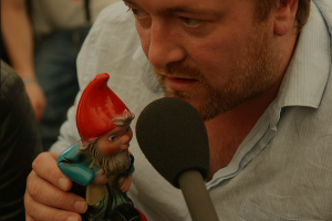 Winston Bedwell and gnome