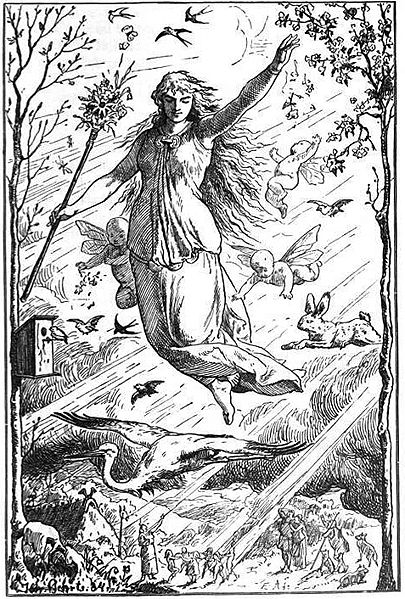 Eastre, goddess of Spring