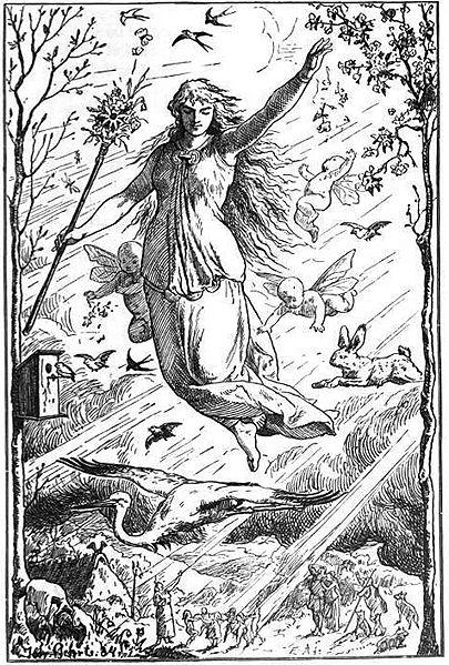 Eastre, goddess of Spring