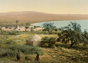 Magdala on the Sea of Galilee, 1900 AD.